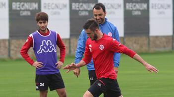Antalyasporda Göztepe maçı hazırlıkları başladı