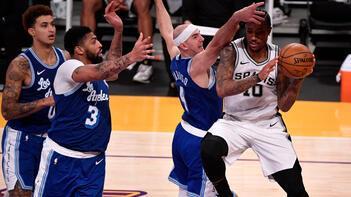 NBAde Spurs, Lakersın serisine son verdi