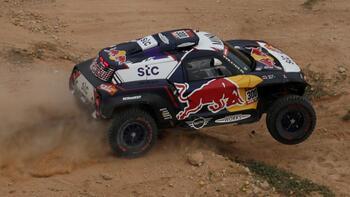 Dakar Rallisi'nin altıncı etabında zafer Sainz'ın