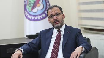 Gençlik ve Spor Bakanı Kasapoğlu'ndan Iğdır'a yarı olimpik havuz müjdesi