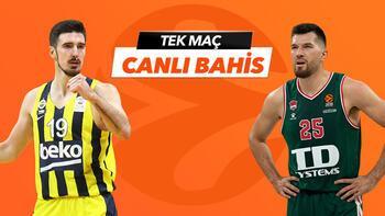 Fenerbahçe Beko - Baskonia maçının heyecanı  Tek Maç ve Canlı Bahis seçenekleriyle Misli.Com'da