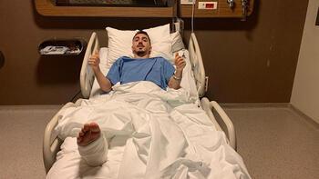Son dakika - Trabzonspor'da Abdülkadir Ömür ameliyat edildi!