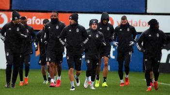 Beşiktaşta Trabzonspor maçı hazırlıkları