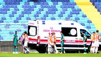 Maç esnasında fenalaştı! Apar topar hastaneye kaldırıldı