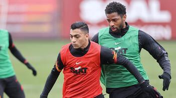 Galatasaray'da Erzurumspor hazırlıkları sürdü