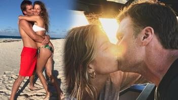 Gisele Bündchen-Tom Bradyden evlilik yıl dönümü paylaşımı