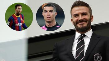 David Beckham, Messi ve Ronaldo'yu istiyor!