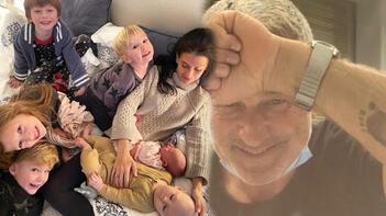 Alec- Hilaria Baldwin çiftinin altıncı çocuğu dünyaya geldi