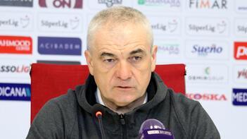 Demir Grup Sivasspor Teknik Direktörü Rıza Çalımbay: Güzel bir şekilde, iyi bir lig maçı oldu