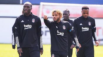 Beşiktaş, Türkiye Kupası'nda Medipol Başakşehir ile yapacağı maçın hazırlıklarına başladı