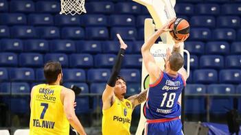 Anadolu Efes, Maccabi Playtika Tel Aviv'i farklı mağlup etti!