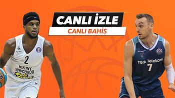 Nizhny - Türk Telekom maçı Tek Maç ve Canlı Bahis seçenekleriyle Misli.com'da