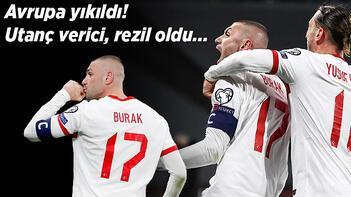 Son dakika haberi - Türkiye'nin Hollanda zaferi Avrupa'yı yıktı geçti! Utanç verici, rezil oldu...