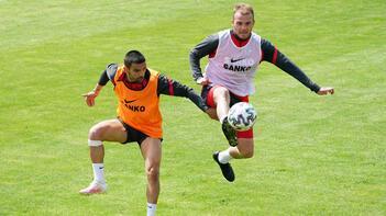 Gaziantep'te Medipol Başakşehir maçı hazırlıkları