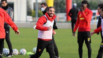 Göztepe, Kayserispor maçı hazırlıklarını sürdürdü