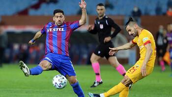 Trabzonspor-Kayserispor: 1-1