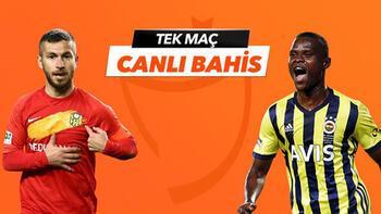 Yeni Malatyaspor-Fenerbahçe maçı Tek Maç ve Canlı Bahis seçenekleriyle Misli.com'da