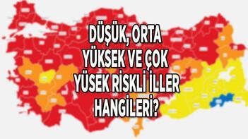 Son dakika haberi: Türkiye koronavirüs risk haritası yeni güncel durum 10 Nisan: Düşük, orta, yüksek ve çok yüksek riskli iller hangileri