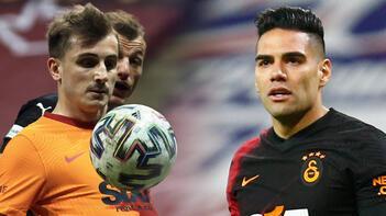 Son dakika haberleri - Galatasaray'da Kerem'le çarpışan Falcao'nun yüz kemiklerinde kırık!