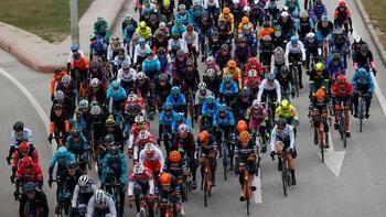 Cumhurbaşkanlığı Türkiye Bisiklet Turu'nda ilk etabı Kleijn kazandı
