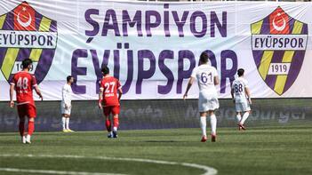 Son dakika haberleri - Eyüpspor, TFF 1. Lig'e yükseldi!