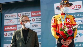 Son dakika - Cumhurbaşkanlığı Türkiye Bisiklet Turu'nda Bakan Kasapoğlu'ndan tanıtım vurgusu!