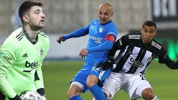 Son dakika - Erzurumspor - Beşiktaş maçında Ersin Destanoğlundan inanılmaz hata