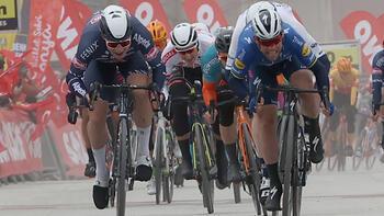 Cumhurbaşkanlığı Bisiklet Turu'nun 2. etabını Cavendish kazandı