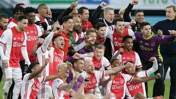 Son dakika - Ajax, Hollanda Kupası'nı son dakika golüyle kazandı