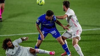 Son dakika - Enes Ünallı Getafe, Real Madrid'den puanı kaptı