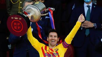 Son dakika - Barcelona'da Messi rüzgarı! Tarihe geçti