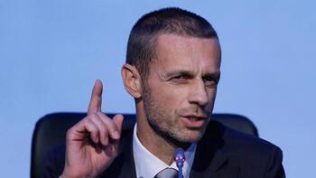 """UEFA Başkanı Ceferin'den açıklama: """"Davet alamayacaklar"""""""