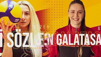 Galatasaray'da 2 imza birden! Gamze ve Gizem'in sözleşmesi uzatıldı