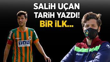 Son dakika haberi - 5 gollü müthiş düelloda Salih Uçan tarihe geçti Bir ilk...
