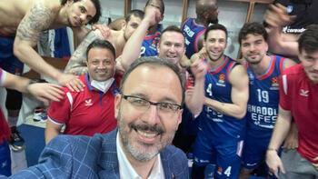 Kasapoğlu: İnanıyorum ki ikinci şampiyonluk Anadolu Efes ile gelecek