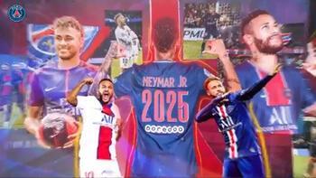 Son dakika haberi - Paris Saint Germain, Neymar'ın sözleşmesini 4 yıl uzattı