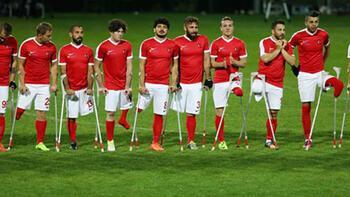 Ampute Futbol Milli Takımı, hazırlık maçında Polonya'yı 5-0 mağlup etti