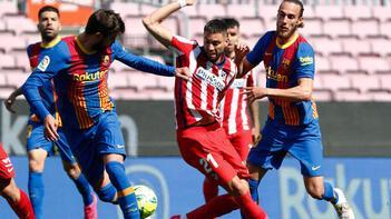 Barcelona - Atletico Madrid maçından kareler