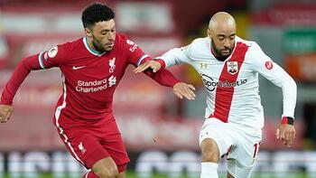 Liverpool, sahasında Southamptonı 2-0 yendi