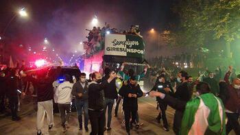 GZT Giresunspor'a coşkulu karşılama