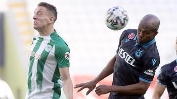 Konyaspor-Trabzonspor: 1-1