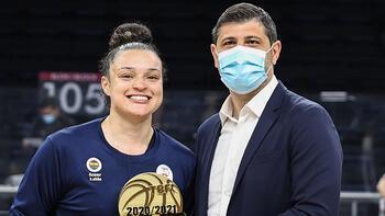 Fenerbahçe'nin yıldızı Kayla Renae McBride, MVP oldu