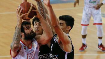 Beşiktaş, Karşıyaka'yı tek sayı farkla yendi