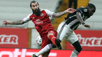 Beşiktaş - Fatih Karagümrük maçından kareler