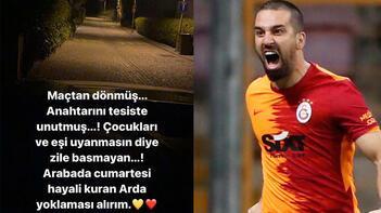 Arda Turan'dan gece yarısı paylaşım: Hayalini kuruyorum