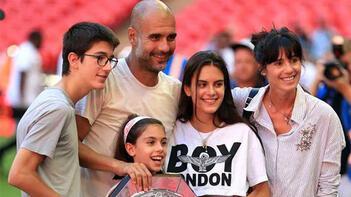 Son dakika haberi - Guardiolayı çıldırtan kare Kızı, ezeli rakip futbolcusuyla birlikte...