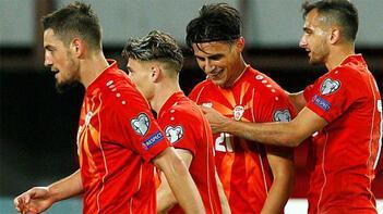Kuzey Makedonya'nın EURO 2020 kadrosu belli oldu! Eljif Elmas...