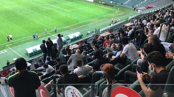 TFF temsilcisi müsaade etmedi, maç 15 dakika geç başladı