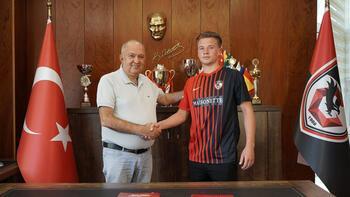 Gaziantep FK, Vladyslav Kobylianskyi ile 5 yıllık sözleşme imzaladı