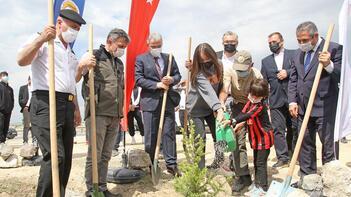 Eskişehirsporun Bir milyon fidan kampanyasında ilk hatıra ormanı oluşturuldu
